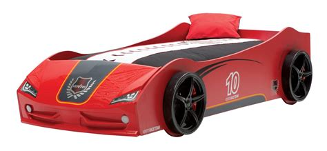 racecar bed newjoy v6 vento red children s race car bed