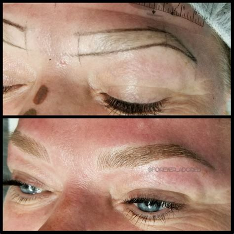 microblading eyebrows clovis la by foreveradored