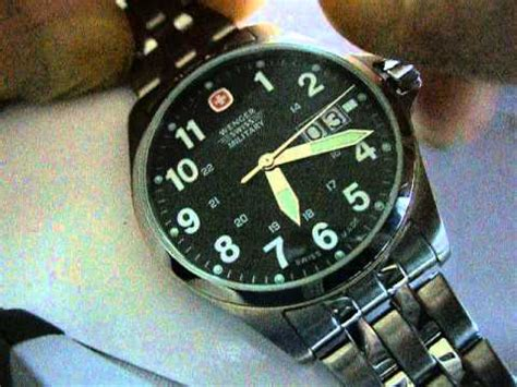 Wenger Swiss Military Movement Replacement   YouTube