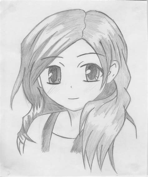 www easy easy anime sketches in pencil www pixshark com images