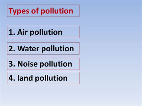 Landscape Pollution Definition Pollution Is The Introduction Of Harmful Substances Or