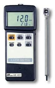 Lutron Am 4222 Vane Anemometer anemometer wire airflow meters y fong instruments one stop instruments supplier