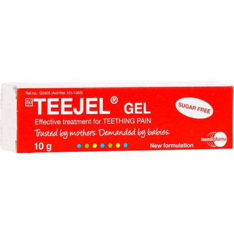 Daktarin 10g teejel teething gel 10g clicks