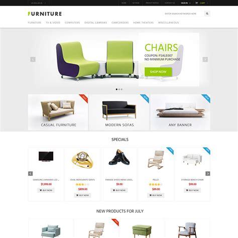 zen theme layout furniture responsive zen cart template interior mobile