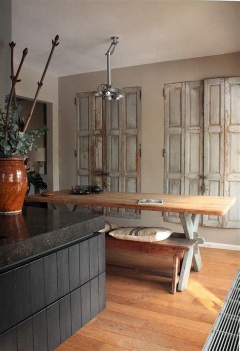 oude kist als salontafel latest beste idee n over oude deuren op pinterest with