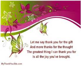 sle thank you verses and thank you poems
