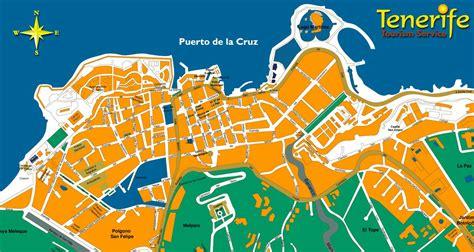 printable map tenerife large puerto de la cruz maps for free download and print
