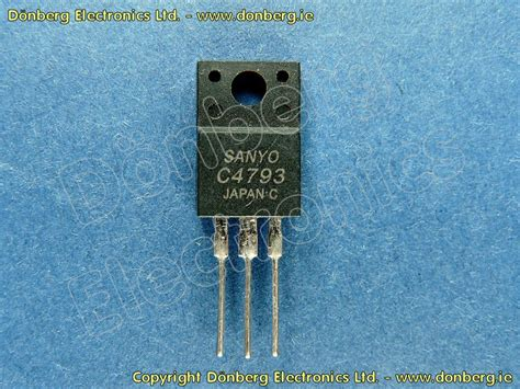 transistor c4793 equivalente semiconductor 2sc4793 2sc 4793 transistor de silicio npn 230v 1a 2w 100mhz