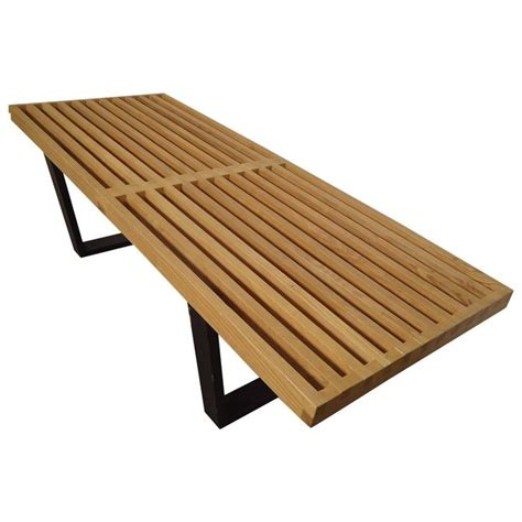 mid century slat bench 1000 ideas about modern bench on pinterest diy wood bench diy bench and asian