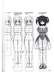 How To Draw Moeoh Characters  Lolita Fashion Beauty Of Face Body sketch template