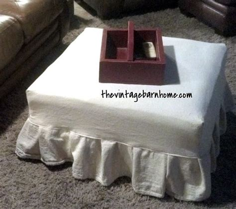 directions for making an ottoman slipcover 17 best ideas about ottoman slipcover on pinterest do