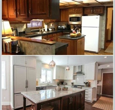 houzz before and after kitchen reno before and tadahhhh after