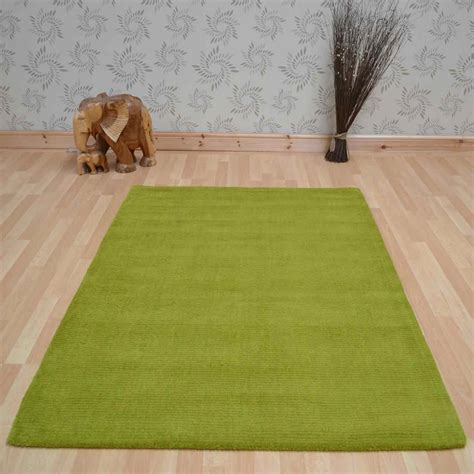 green wool rugs brighton plain lime green wool rugs free uk delivery the rug seller