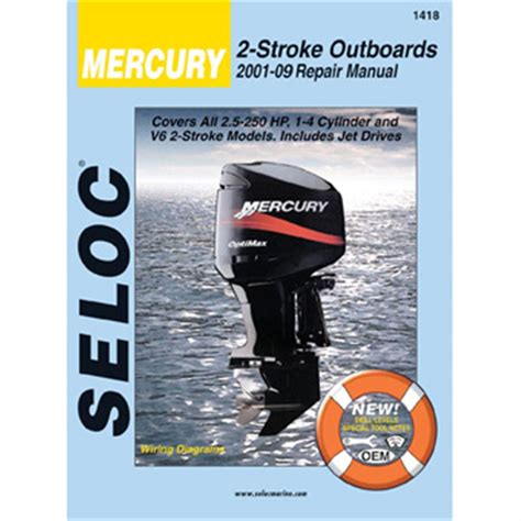 small engine repair manuals free download 2001 mercury sable engine control seloc engine manual for 2001 2005 mercury mariner 2 stroke outboards 175662 motor