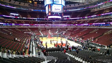 section 118 united center united center section 118 chicago bulls rateyourseats com