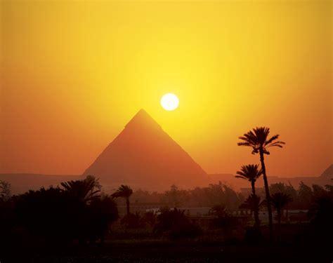 imagenes paisajes egipcios la orientaci 243 n de las pir 225 mides de gizeh