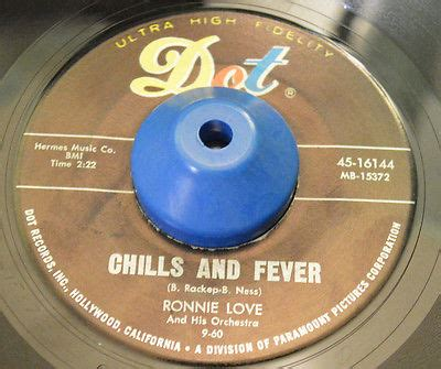 Highest Fever Recorded Without Popsike Ronnie Northern Soul Dot 45 Chills And Fever No Use Pledging