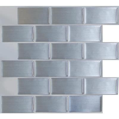 home depot steel subway tile house