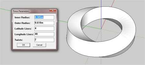 best sketchup plugins sketchup plugins modeling twisted torus cad and bim