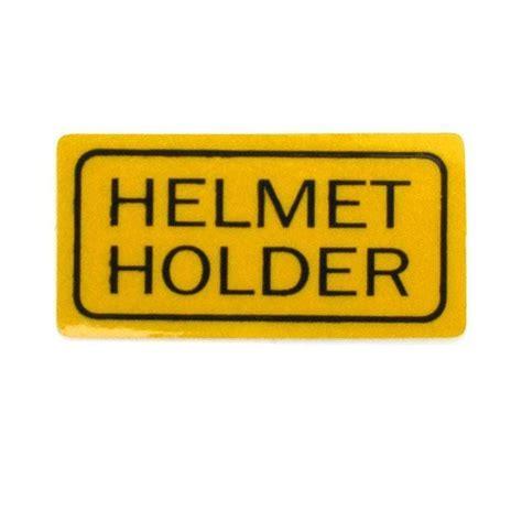 Helm Sticker Motor by Sticker Quot Helmet Holder Quot Motorkit