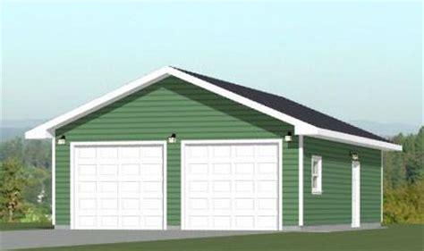 24x36 Garage by 24x36 2 Car Garage 1 344 Sq Ft Pdf Floor Plan