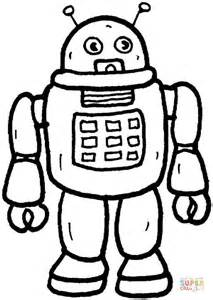 evil robot coloring page desenho de rob 244 para colorir desenhos para colorir e