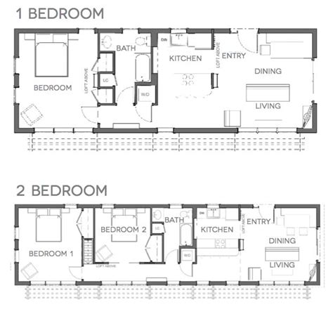 2 bedroom tiny house plans tiny house plans for families the tiny life