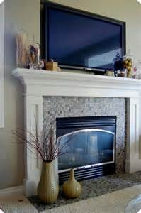 how to decorate a fireplace mantel with a tv fireplace