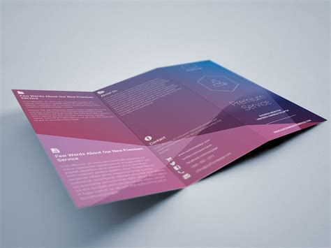 simple tri fold brochure template simple tri fold brochure indiestock