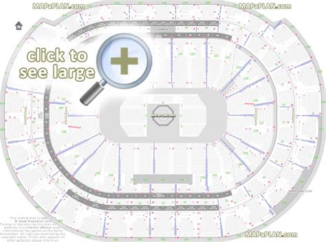 what is section 8 number bb t center seat row numbers detailed seating chart