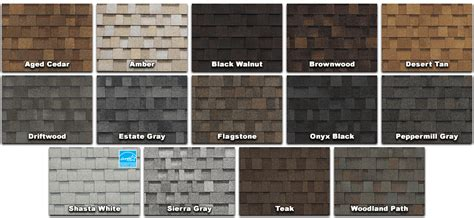owens corning oakridge roof colors roof color selection assistance