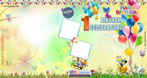design birthday banner online free birthday flex banner design psd template free downloads