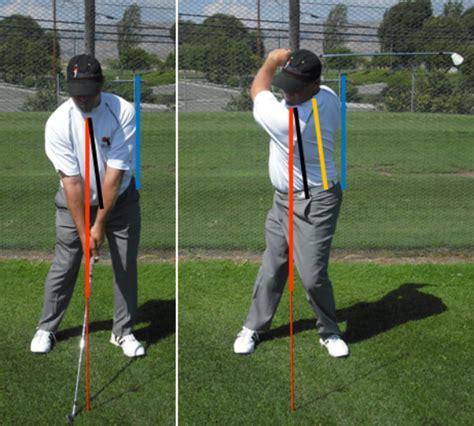 secondary axis tilt golf swing p3g power