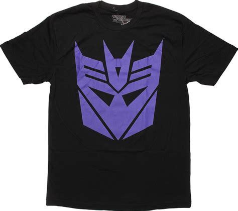 Tshirt Tranformers Logo transformers purple decepticon logo t shirt