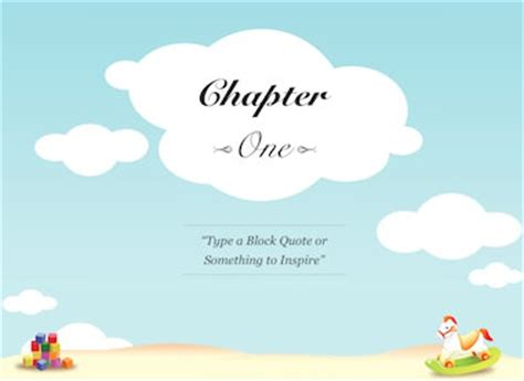Ibooks Author Templates Childrens Book Children S Book Powerpoint Template