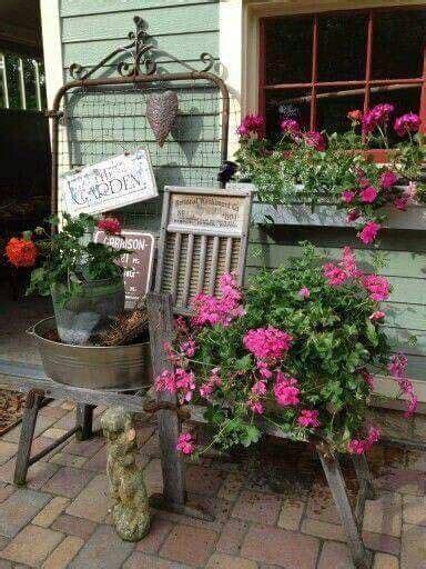 25 best ideas about primitive garden decor on