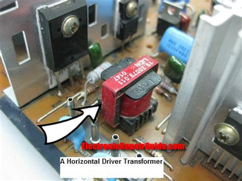 transistor driver transformer monitor no display