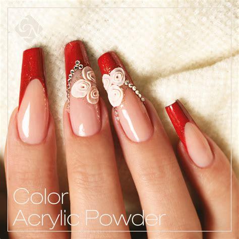 powder nail color color powder acrylic nails