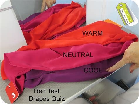 color analysis drapes real life personal color analysis session part 2 red test