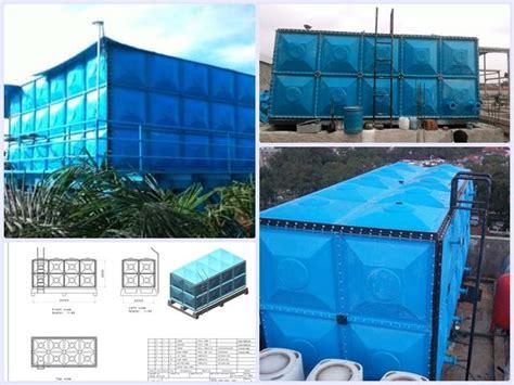 tangki panel fiber frp roof tank fiberglass energi