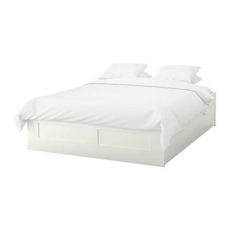 bett 140x200 futon brimnes bed frame with storage lur 246 y white ikea
