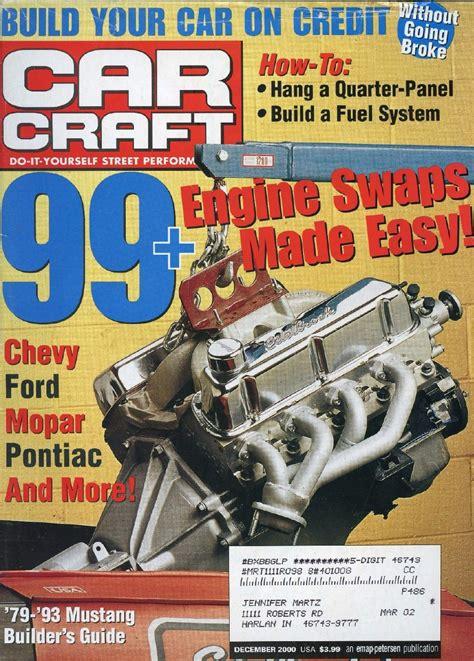 swinging magazine 2000 2009 car craft magazine magazines auto car