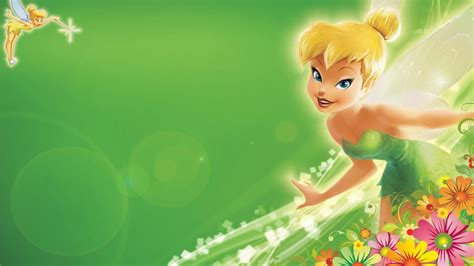 wallpaper android tinkerbell tinkerbell green hd wallpapers with flower decoration for