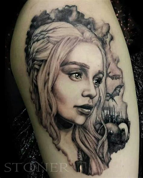 targaryen tattoo my beautiful of daenerys targaryen done by the