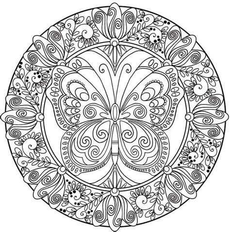 butterfly mandala design patterns pinterest mandala