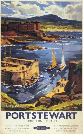portstewart  derry northern ireland vintage br irish