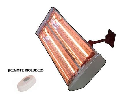 Kmart Patio Heater Hiland Indoor Outdoor Dual Bulb Electric Patio Heater