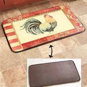 comfort chef kitchen mat buy reversible chef comfort rooster kitchen floor mat