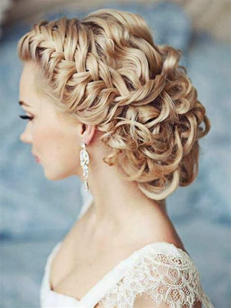 Wedding Hair With A Braid by Memorable Wedding Bridal Hair Trend Braids