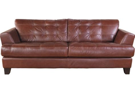 100 genuine leather sofa avenue 100 genuine leather sofa brown for the home